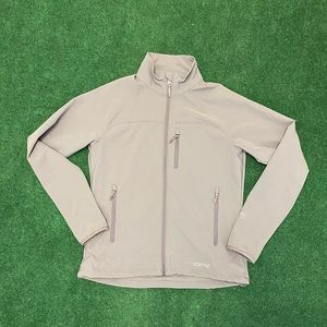 Mens Marmot M3 softshell gray full zip jacket M